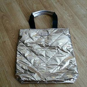 NWOT Victoria Secret Rose Gold Bag